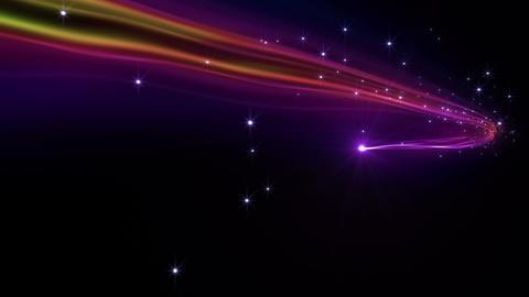 Light streaks C 1 Ba HD Stock Video Footage
