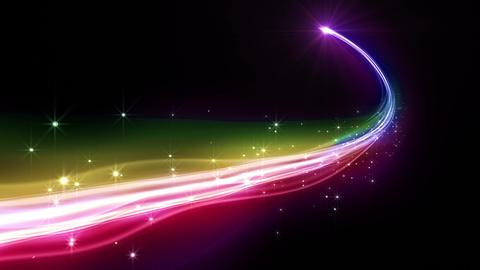 Light streaks D 2 Ba HD Stock Video Footage