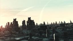 Sci Fi Cityflight Stock Video Footage