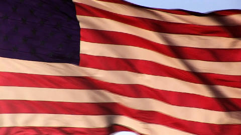 American Flag Stock Video Footage