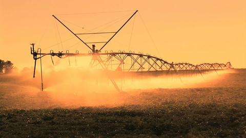 Farm Irrigation Footage