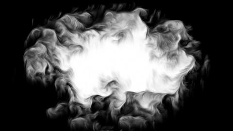 Ink Cloud Stock Video Footage