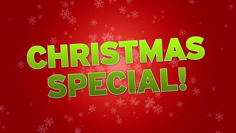 Christmas Special Stock Video Footage