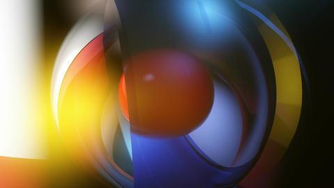 glass shine overlay Stock Video Footage