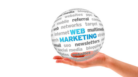Web Marketing Stock Video Footage