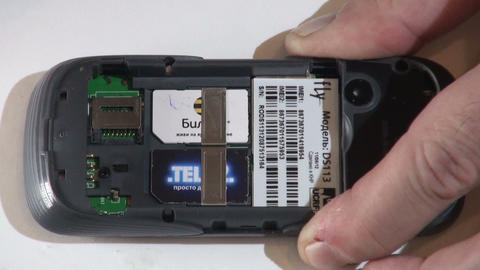 Repair mobile phone Stock Video Footage