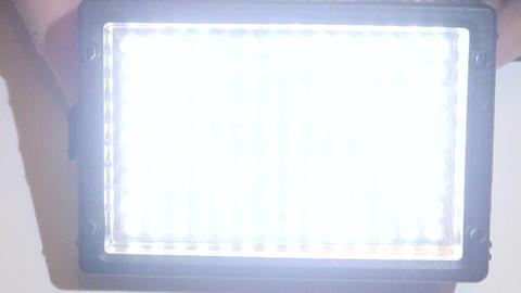 Led flashlight Stock Video Footage