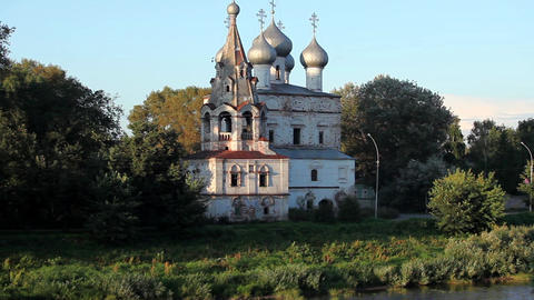 Orthodox Russia Stock Video Footage