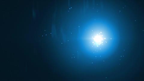 Fireflies Blue Animation