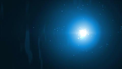 Fireflies Blue Stock Video Footage