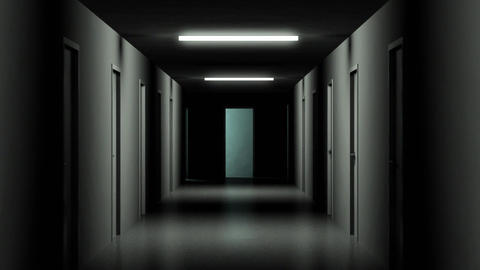 Dark Hallway Animation