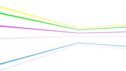 Neon tube R b C 3h HD Stock Video Footage