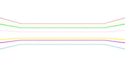 Neon tube R b D 3h HD Stock Video Footage