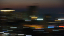 night urban scenes,Lens moving with blur ray light Animation