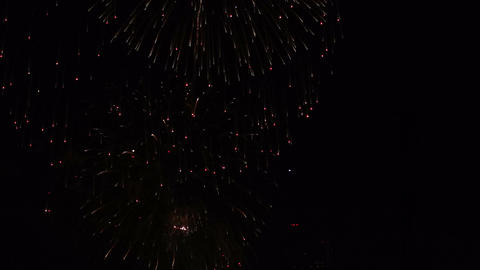 Fireworks Holiday Celebration Stock Video Footage