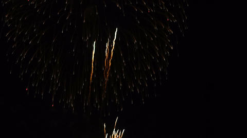 Fireworks Holiday Celebration stock footage