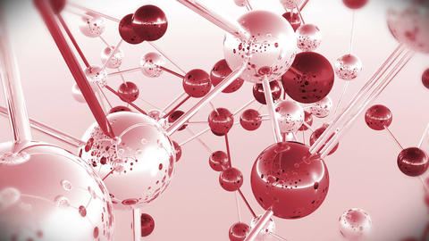 4 K Complex Molecule Structure 6 Stock Video Footage