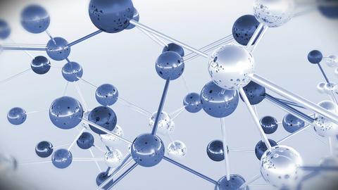4 K Complex Molecule Structure 8 Stock Video Footage