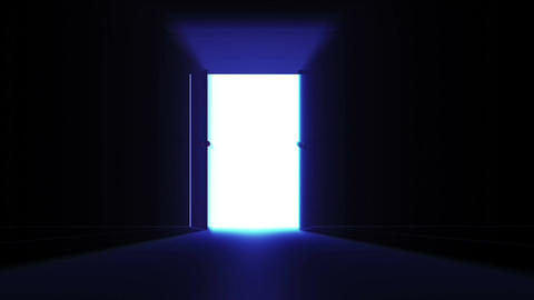 4 K Mysterious Door 4 Stock Video Footage