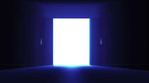 4 K Mysterious Door 4 Animation
