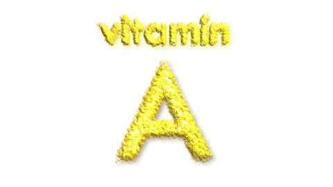 A Vitamin Stock Video Footage