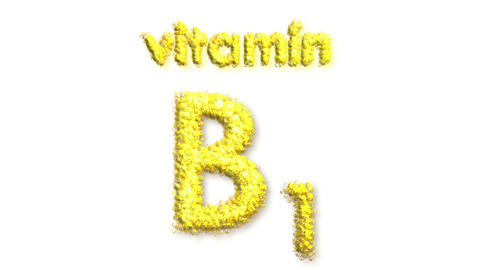 B1 Vitamin Stock Video Footage