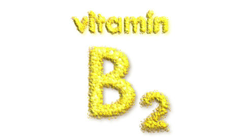 B2 Vitamin Stock Video Footage