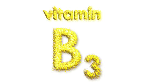 B3 Vitamin Stock Video Footage
