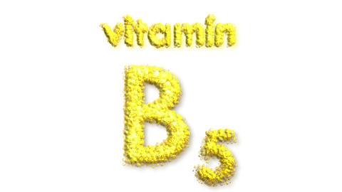 B4 Vitamin 2 Stock Video Footage