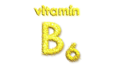 B6 Vitamin Stock Video Footage