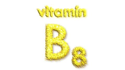 B8 Vitamin Stock Video Footage