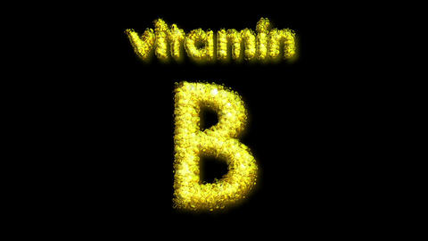 B Vitamin 2 Stock Video Footage