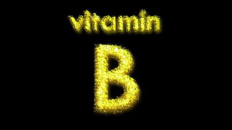 B Vitamin 2 Stock Video Footage