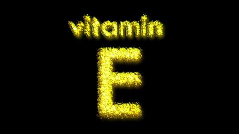 E Vitamin 2 Stock Video Footage
