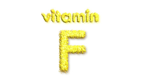 F Vitamin Stock Video Footage