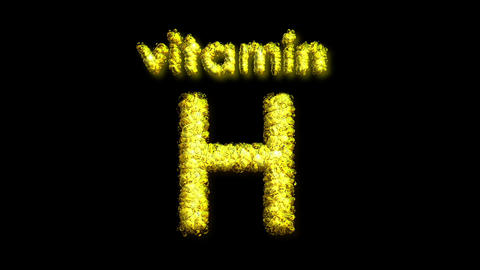 H Vitamin 2 Stock Video Footage