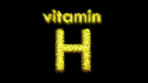 H Vitamin 2 Stock Video Footage