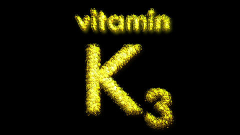 K 3 Vitamin 2 Stock Video Footage