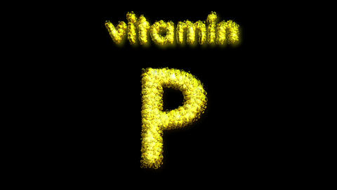 P Vitamin 2 Stock Video Footage