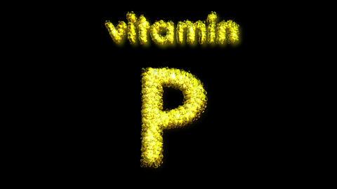 P Vitamin 2 Stock Video Footage