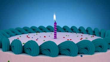 Happy Birthday Cake Lite Package After Effects Project
