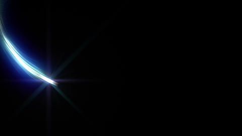 Light streaks E 0 Ab 2 HD Stock Video Footage