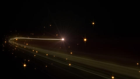 Light streaks E 1 Aa 2 HD Stock Video Footage