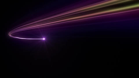 Light streaks E 1 Ba 2 HD Animation
