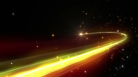 Light streaks E 2 Ab 2 HD Stock Video Footage