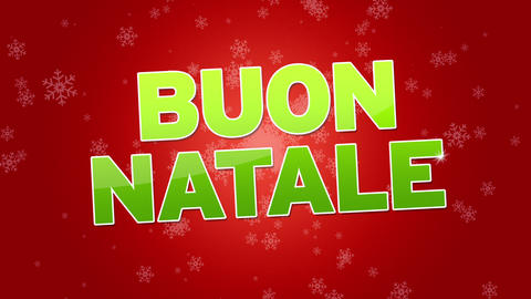 Merry Christmas (In Italian) Animation