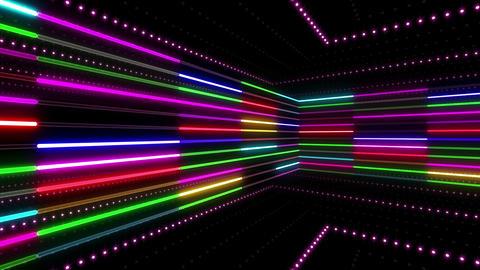 Neon tube R b C 2 HD Stock Video Footage