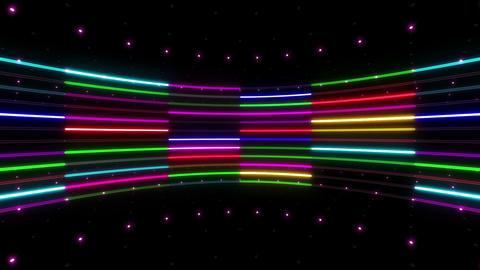 Neon tube R c B 2 HD CG動画