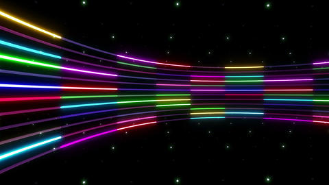 Neon tube R c C 2 HD Stock Video Footage
