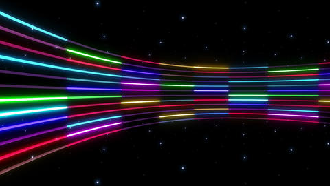 Neon tube R c C 2 HD, CG動画素材